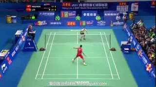 Lin Dan vs NGUYEN Tien Minh - 2013 BWF World Championships Mens semifinals