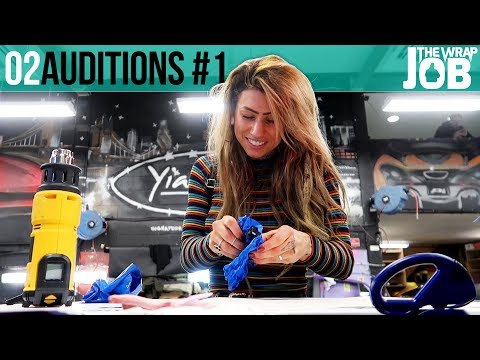 Auditions #1 - Time to Start Wrapping - The Wrap Job ep2
