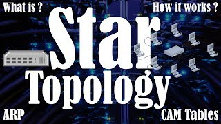 What is Star Topology | How does Star Topology works | Advantages and Disadvantages of Star Topology