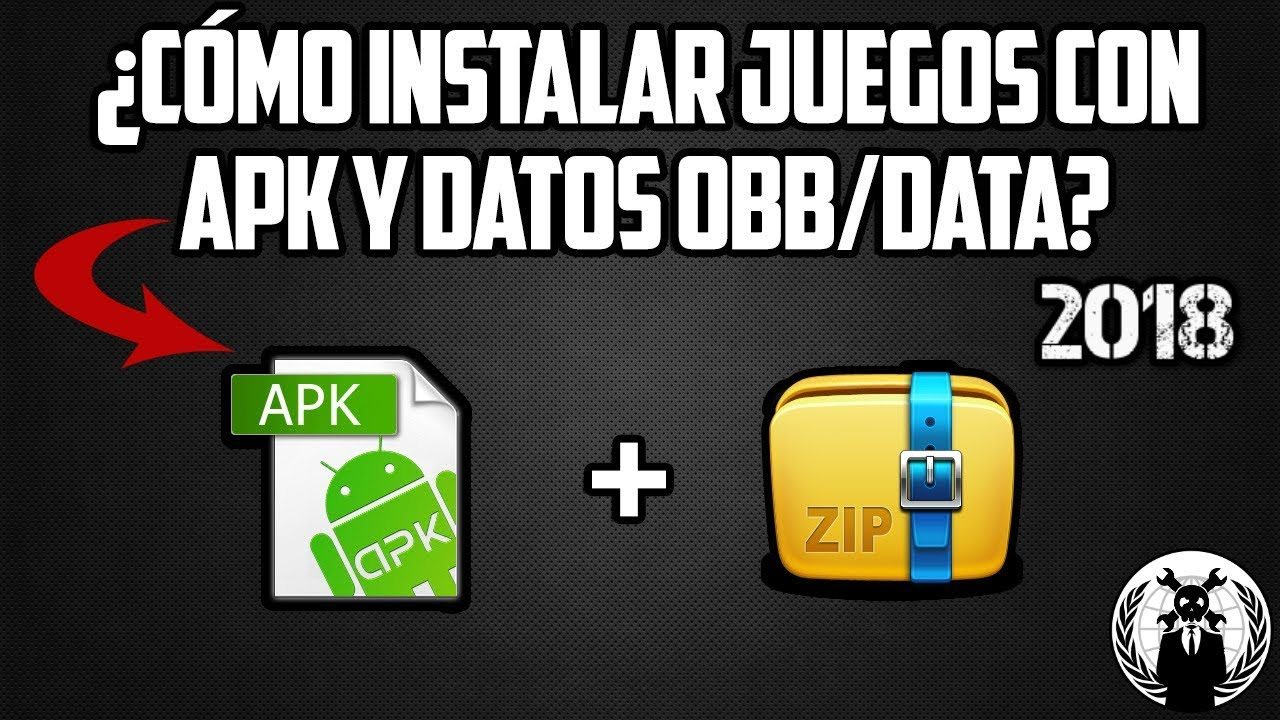 Como Instalar Unir Juegos Apk Datos Obb Data 2018 No Root Youtube