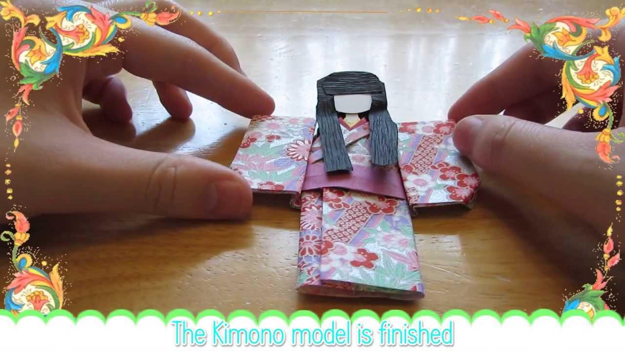 origami kimono youtube