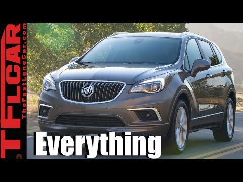2016 Buick Envision Everything You Ever Wanted To Know The Fast Lane Car