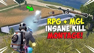 ROS Explosive RPG & MGL Kill Montage! (Rules of Survival)