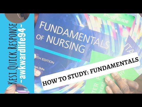 Nursing School Vlog:  Week 5 and My First Fundamentals Test