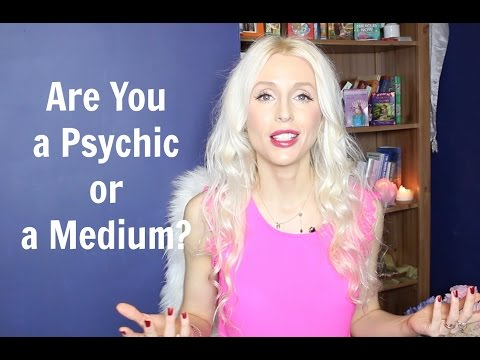 Are You A Psychic or a Medium?