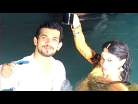 'Naagin' climax scene shot underwater    Telly Top Up