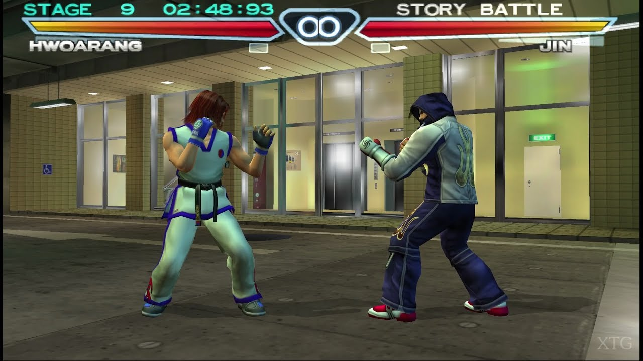 Tekken 4 Ps2 Gameplay Hd Pcsx2 Youtube