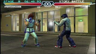 Tekken 4 PS2 Gameplay HD (PCSX2)