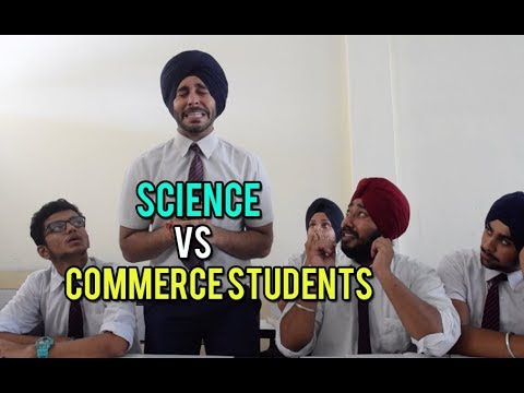 Science VS Commerce Students