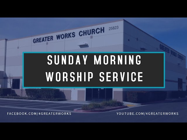 Sunday Morning Service - August 30, 2020