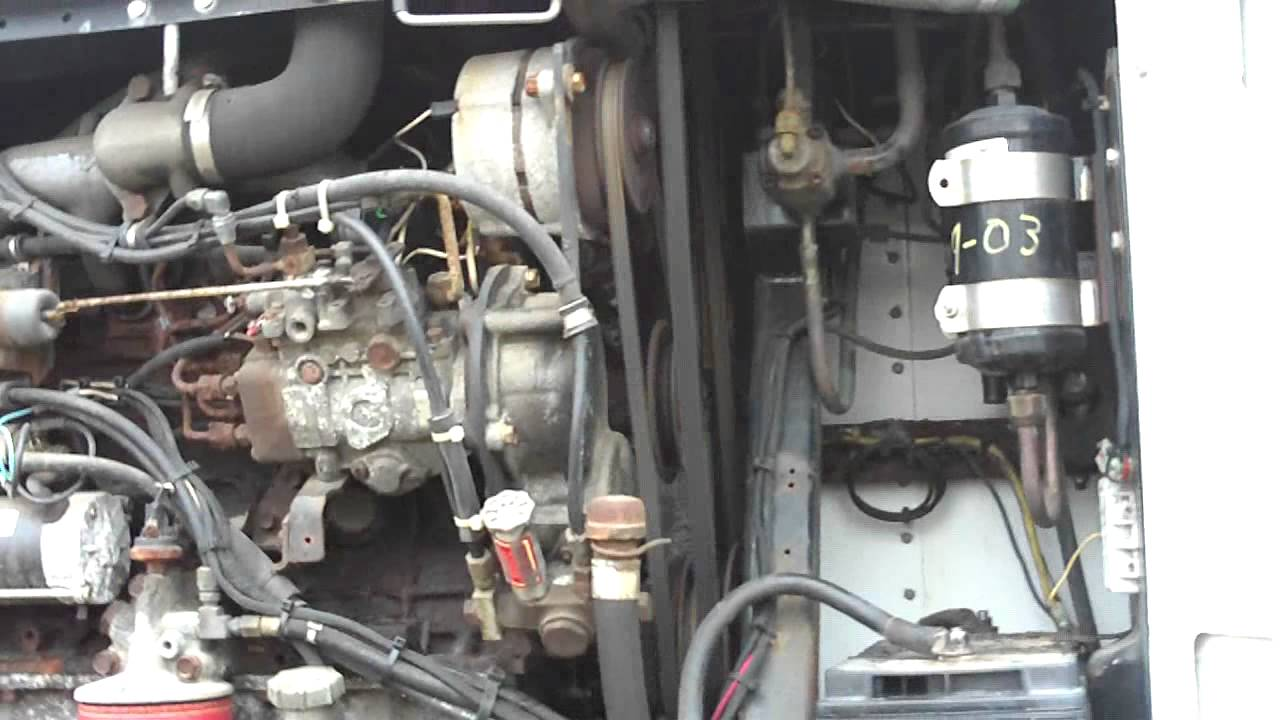 Thermo King Isuzu D201 Diesel Cold Start After 3 Years