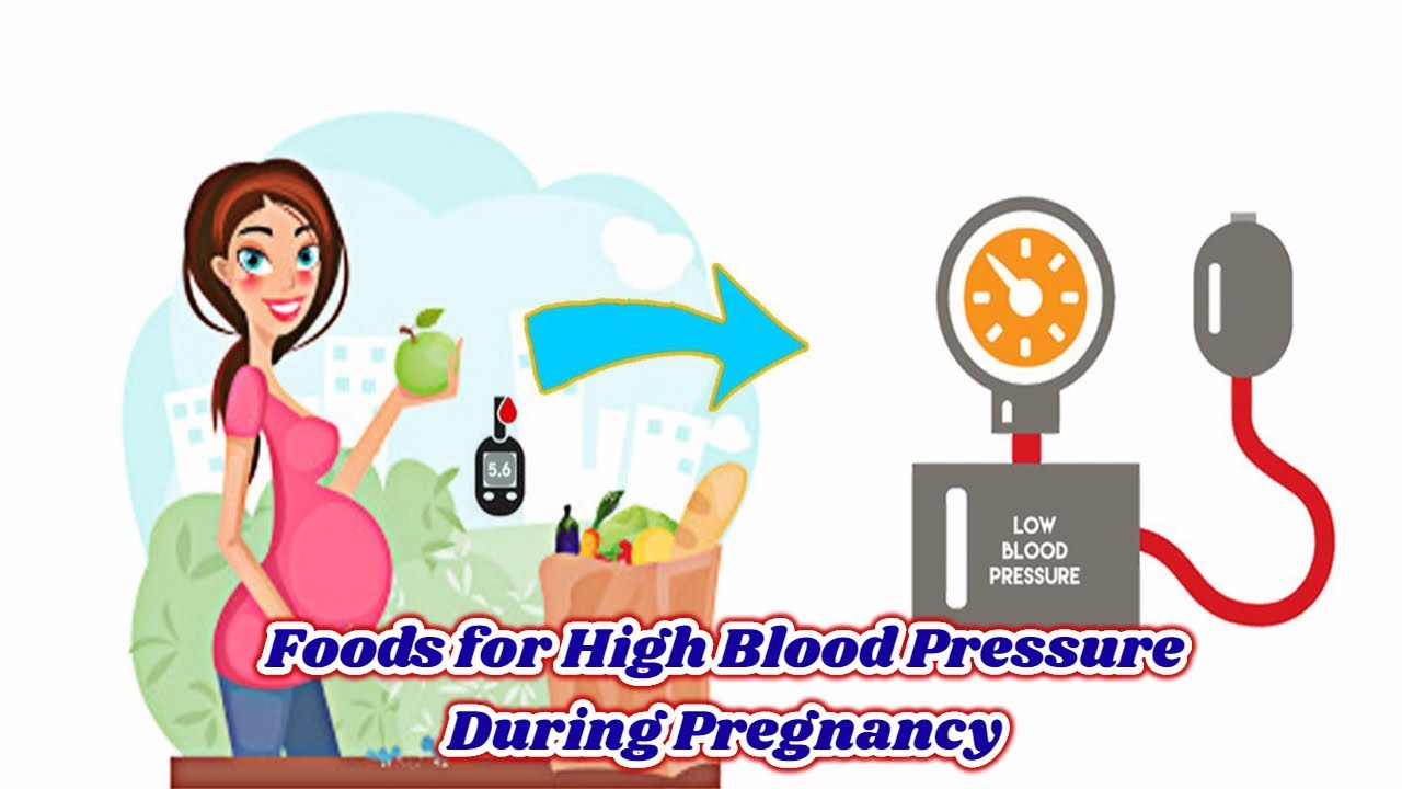 5 Foods For High Blood Pressure In Pregnancy Youtube