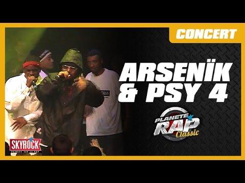 Concert Psy 4 De La Rime & Arsenïk - Planète Rap Classic ...
