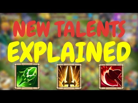 NEW TALENTS EXPLAINED I Castle Clash