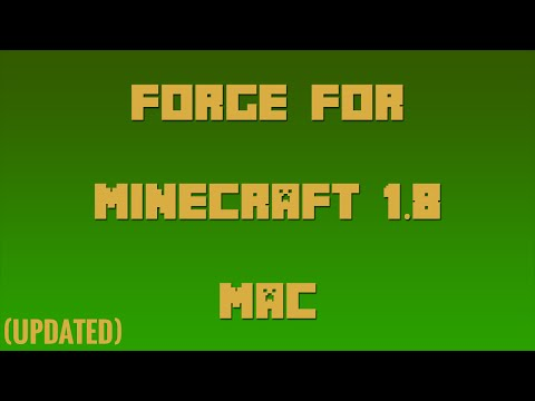 [NEW WEBSITE] How to Install Forge for Minecraft 1.8 (Mac)