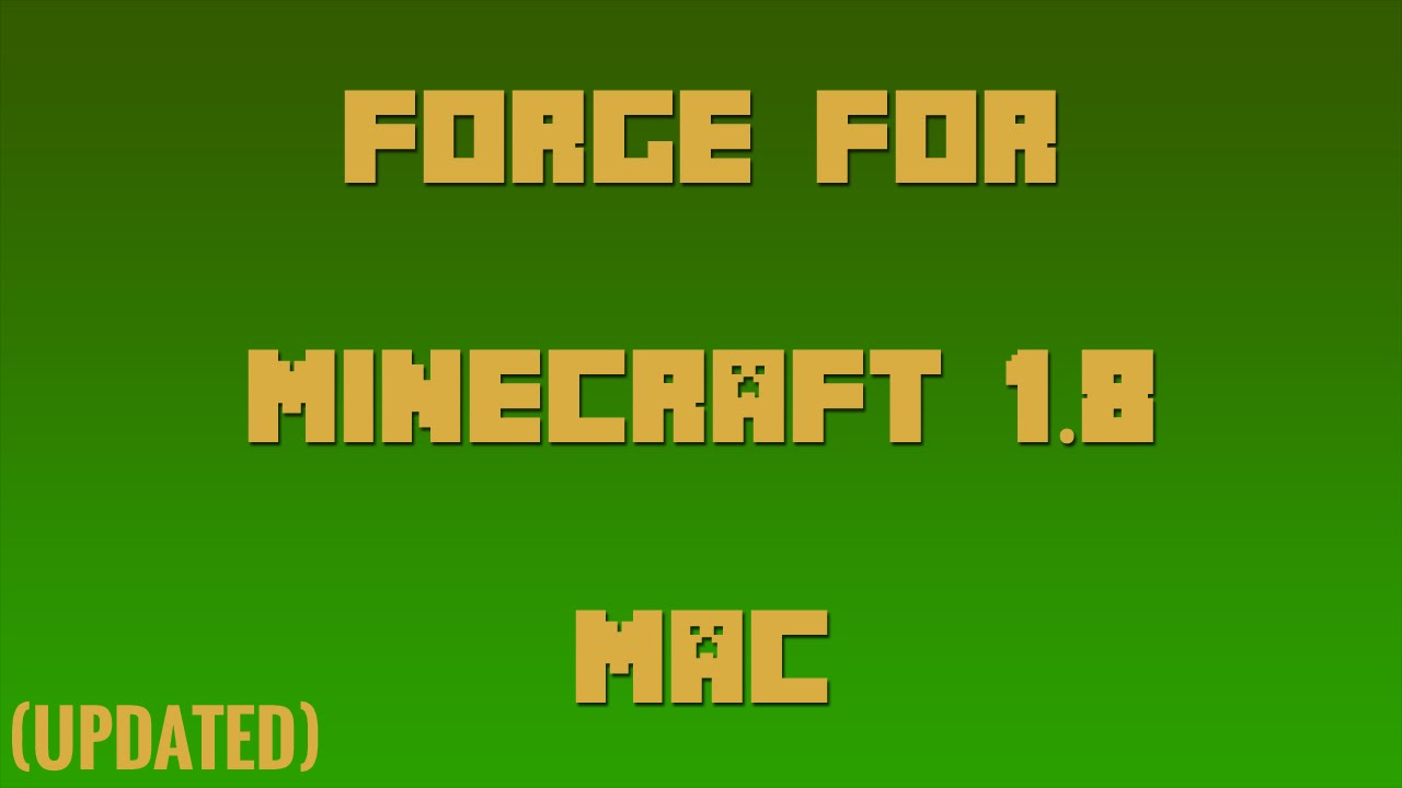 How To Download Minecraft 1.8 For Free Mac