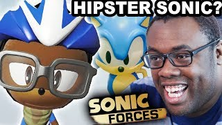 Is HIPSTER SONIC in SONIC FORCES?? | Andre Black Nerd