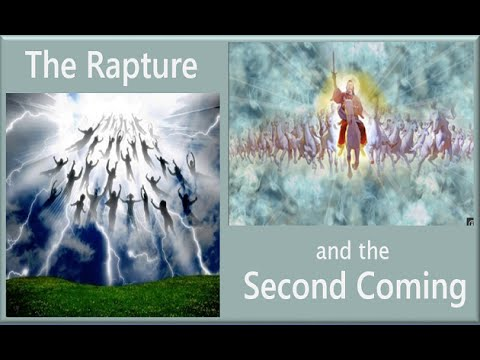 THE RAPTURE AND SECOND COMING - 8 DIFFERENCES