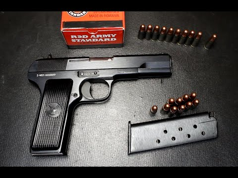 Zastava M57 Tokarev Pistol 7 62x25 Full Review