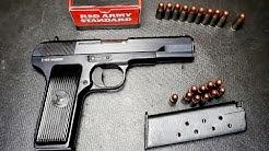 Zastava M57 Tokarev Pistol 7 62x25 Full Review