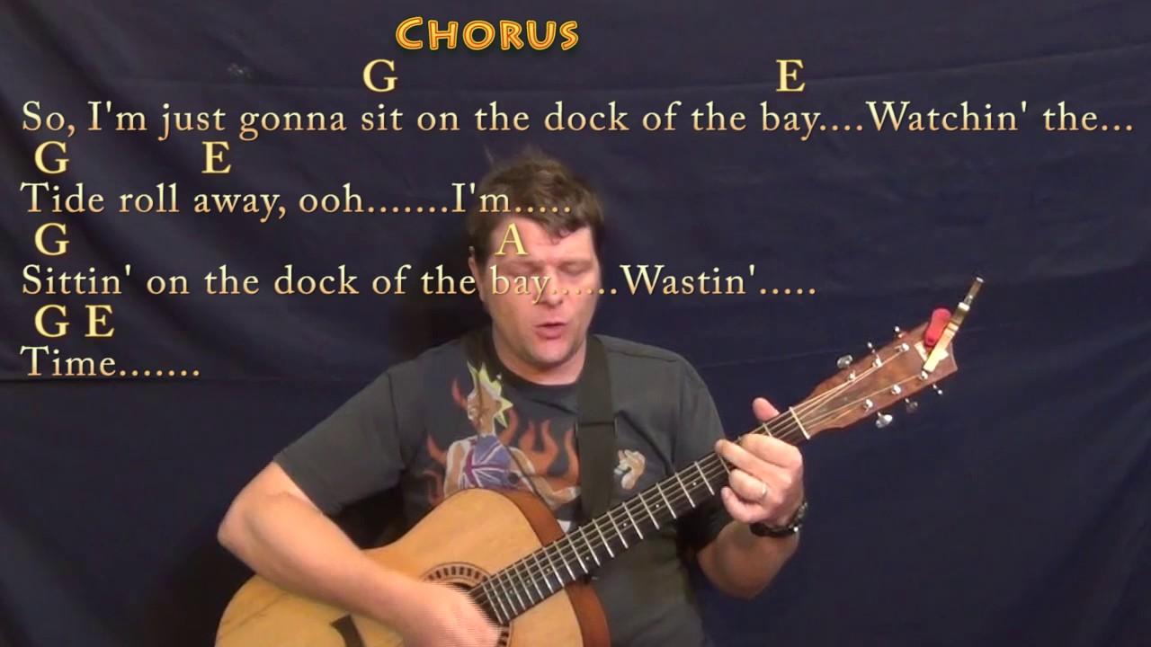 Sittin On The Dock Of The Bay Otis Redding Guitar Cover Lesson