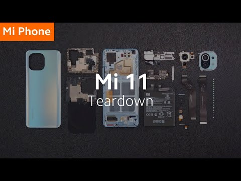 Mi 11 Official Teardown | #MovieMagic