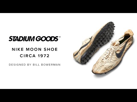 594959de3ae Nike 'Moon Shoes' sell for a record-breaking price at Sotheby's ...