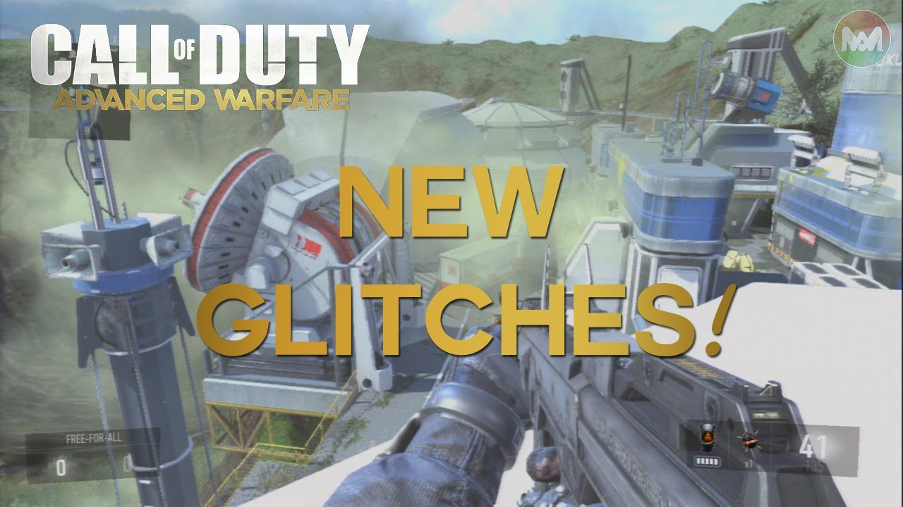 COD Advanced Warfare GLITCHES OUT OF MAP.
