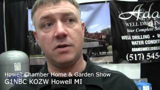Howell Chamber Home & Garden Show 2014  G1NBC KOZW Howell MI