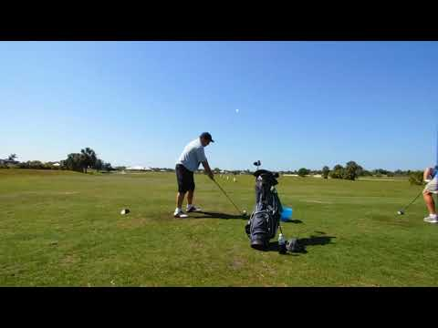 Keep the width in the swing. Take the club back past your trail shoulder.