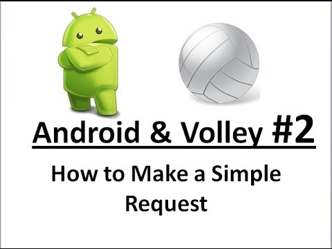 Android Volley -02- Create a Simple Request