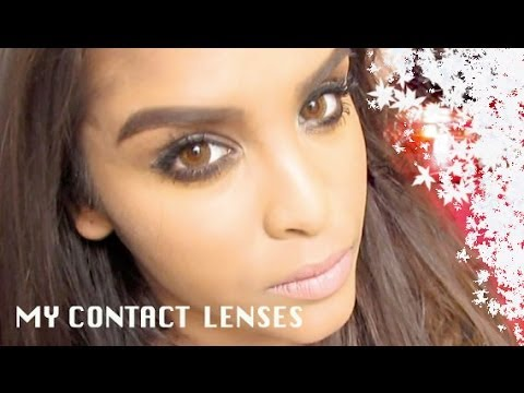 My Contact Lenses - YouTube
