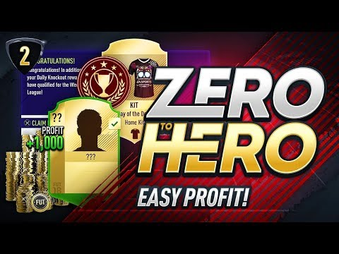 5K PER MINUTE?!  FIFA 18 ZERO TO HERO