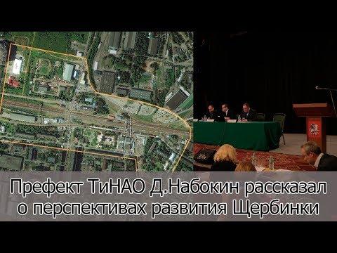 Д. Набокин о перспективах развития Щербинки. Итоги встречи с префектом ТиНАО