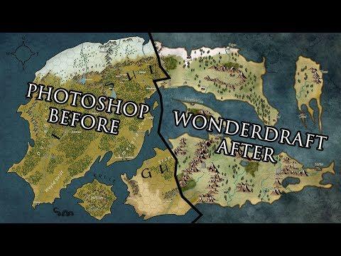 World of Lothrune - Wonderdraft Edition - 20 hours in 2