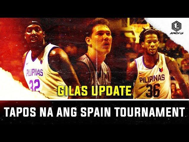TINAPOS NA NG GILAS PILIPINAS ANG SPAIN TOURNAMENT | ANONG SUSUNOD PARA SA GILAS? | GILAS UPDATE