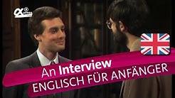 An Interview | alpha Lernen retro erklärt Englisch | (Folge 1)