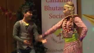 Nepali dance in Lethnridge A,B in a Fulpati Bhakera