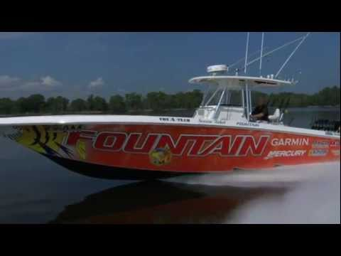 2011 38 ft Fountain Powerboats Center Console Review