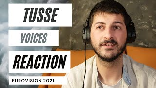 EUROVISION 2021 SWEDEN 🇸🇪 REACTION | TUSSE - VOICES ✊✊ (THAT VOICE!) 🧑‍🎤