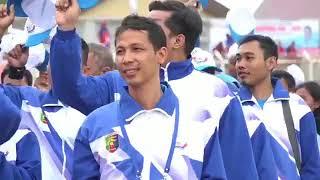 Gubernur Ridho Buka Porprov VIII Lampung 2017 Mp3