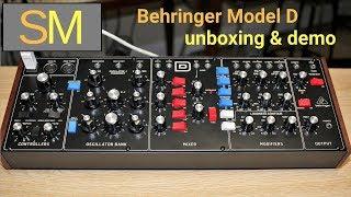 Behringer Model D unboxing & demo