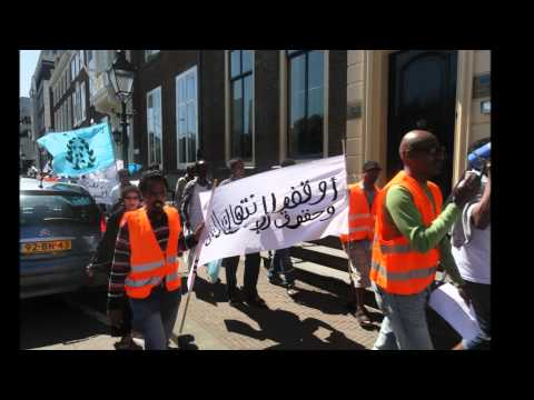 Demonstration FREE ERITREA - Den Haag - Holland- 25.05.12