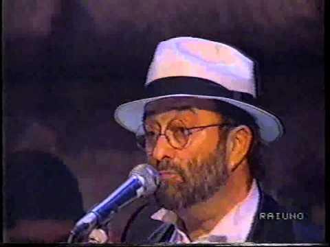 Lucio Dalla Attenti al lupo (karaoke)
