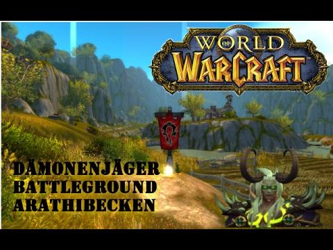World of Warcraft - Legion - PVP - BG - Arathibecken - Dämonenjäger