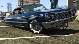 GTA V [PC] 🚘🎲 Chevrolet Impala SS 1964 Hard Top Mod 2.0 (OUTDATED! WATCH 3.0!!) By MrGTAmodsgerman