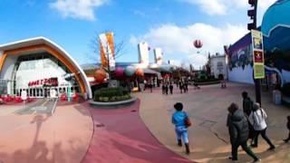 360 VR Tour | Disneyland Paris | Disney Village | Gaumont | Planet Hollywood | No comments tour