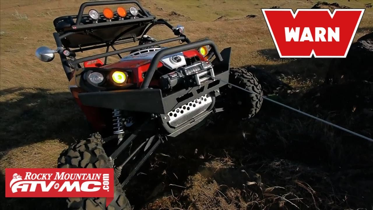 medium resolution of warn v4000 vantage winch with wire rope parts accessories rocky mountain atv mc
