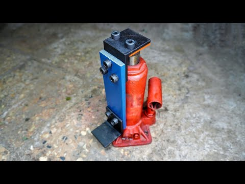 Unique Idea With Hydraulic Jack || DIY | HomeMade Invention