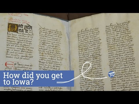 If Books Could Talk - How did you get to Iowa? [Episode 1]